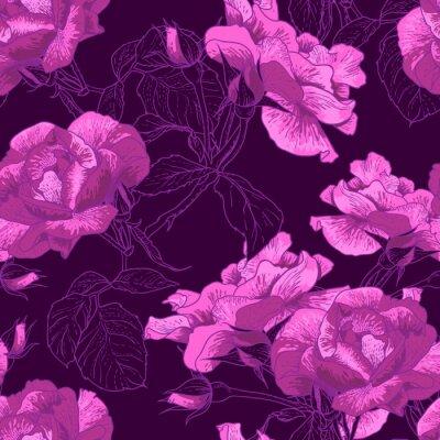 Piękne tła bez szwu Rose