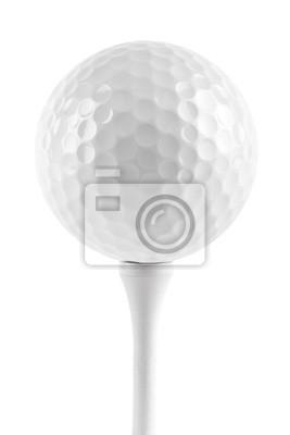 Piłeczka golfowa na tee