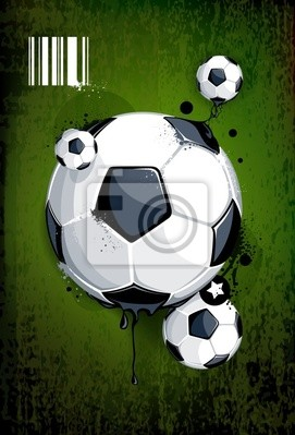 Piłka na tle brudne
