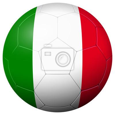 Piłka nożna - Flaga kraju Włochy