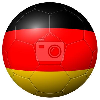 Piłka nożna - flaga NIEMCY