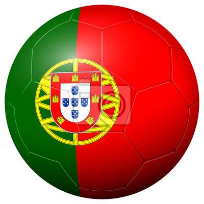 Piłka nożna - flaga PORTUGALIA