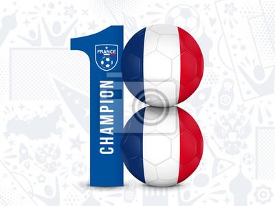 PIŁKA NOŻNA FRANCJA - Champion 2018