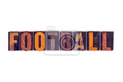 Piłka nożna koncepcji samodzielnie wypuk