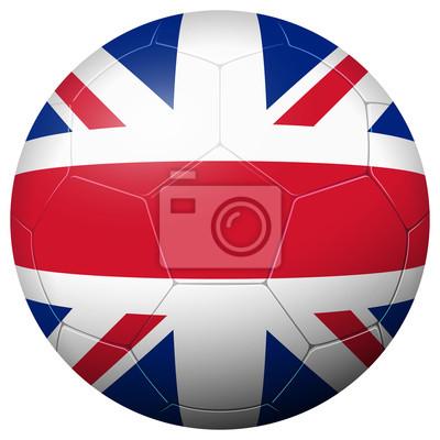 Piłka nożna - Kraj Wielka Brytania flaga