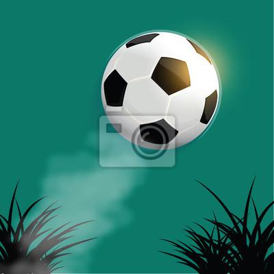 Piłka nożna latania