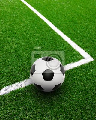 Piłka nożna na stadionie