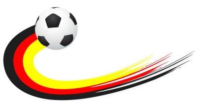 Naklejka Piłka nożna - Niemcy
