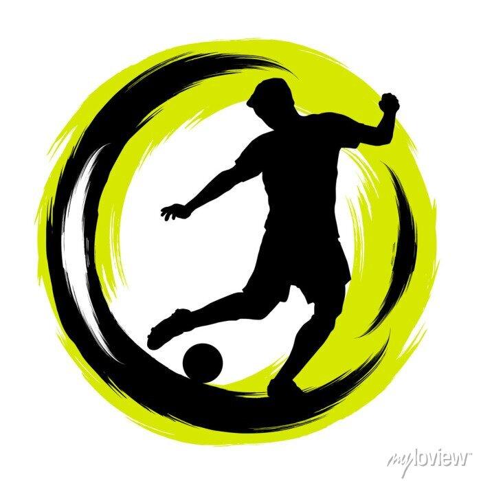 Naklejka Piłka nożna - piłka nożna - 196