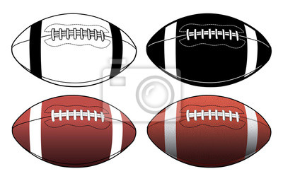Naklejka Piłka nożna-prostych do złożonych