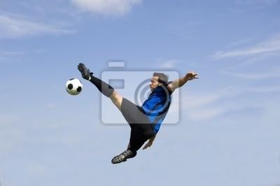 piłka nożna - siatkówka piłkarz
