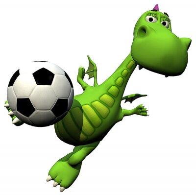 piłka nożna - siatkówka piłkarz - baby baby dragon