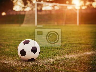 Piłka nożna słońca