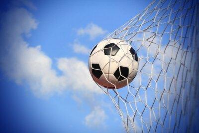 piłka nożna strzelać do bramki