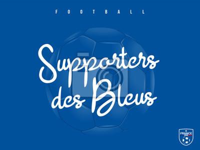 PIŁKA NOŻNA - Supporters des Bleus