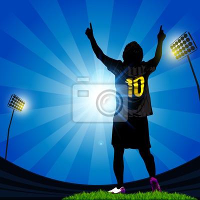 piłka nożna świętować