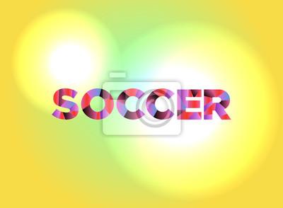Piłka nożna tematu ilustracji programu word
