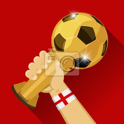 Piłka nożna trofeum w Anglii