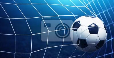 Piłka nożna w bramce