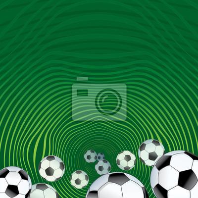Piłka nożna w tle streszczenie