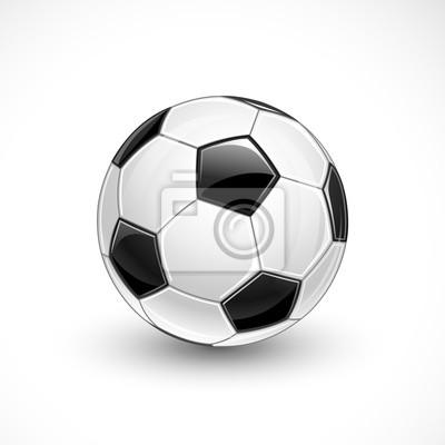 Piłka nożna. Wektor
