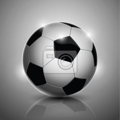 Piłka samodzielnie na tle