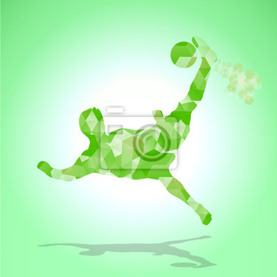 piłka streszczenie zielony