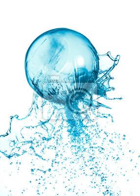 Piłka wody powitalny samodzielnie