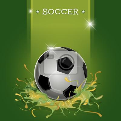 Piłka zielony bełkotać