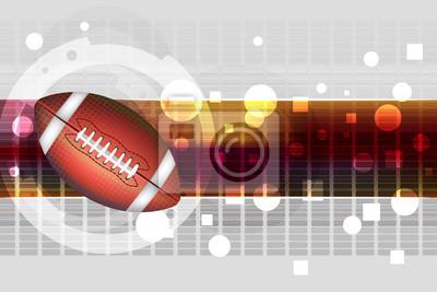 Piłkarski tła Wszystkie elementy są w oddzielnych warstwach i pogrupowane.