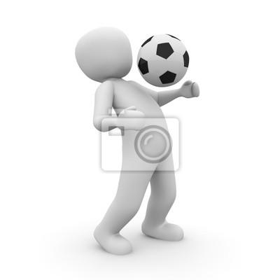 Piłkarz 3D