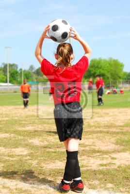 Piłkarz na polu