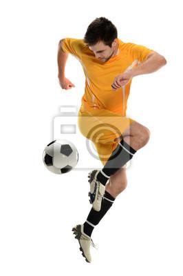 Piłkarz Odtwarzanie Back Kick