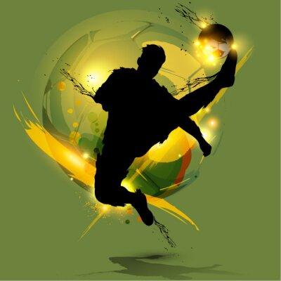 piłkarz powitalny atramentu