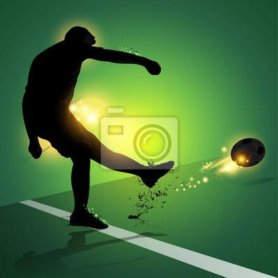 piłkarz Rzut wolny strzelanie