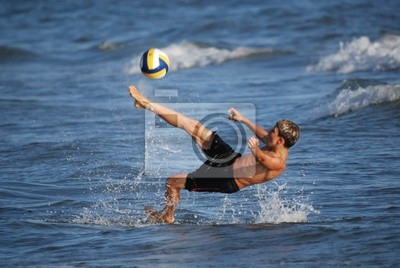 piłkarz volley