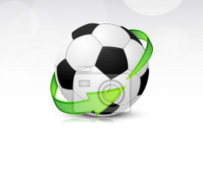 Piłki nożnej ze strzałkami