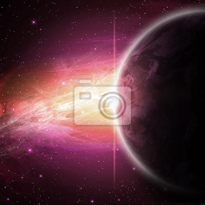 planet w przestrzeni