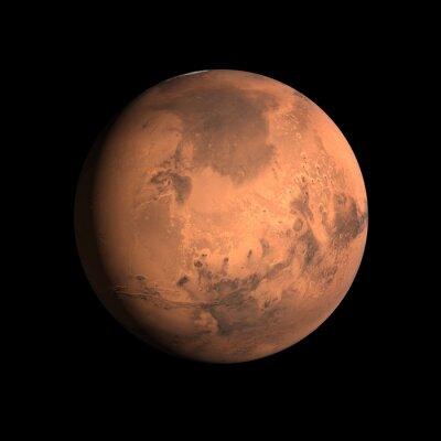 Naklejka Planeta Mars