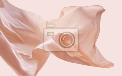 Naklejka Pływająca tkanina cery