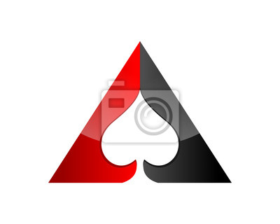 Naklejka Poker Spade Ace