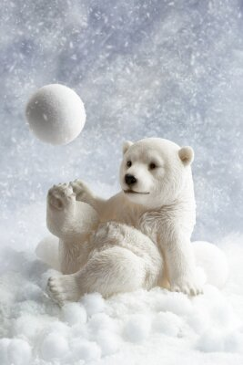 Naklejka Polar Bear Decoration