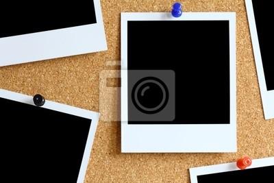 Polaroidy Kork Pinwand