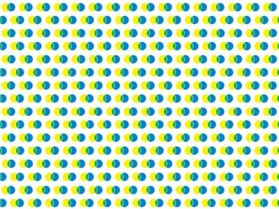 Naklejka polka dot białe Jednolite wektor wzorca