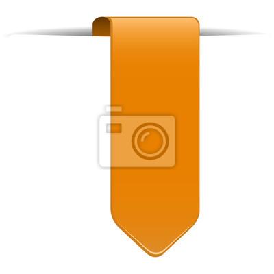 pomarańczowa zakładka dla sklepu internetowego
