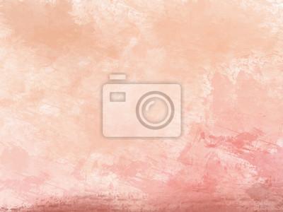 Pomarańczowe tło akwarela / ilustracja malarstwo