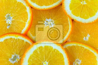Naklejka Pomarańczowy
