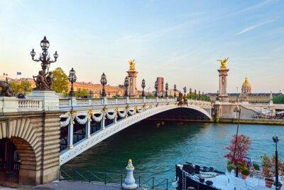 Naklejka Pont Alexandre
