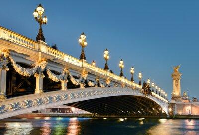 Naklejka Pont Alexandre, Paryż