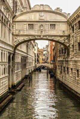Naklejka Ponte dei Sospiri, Wenecja, Włochy